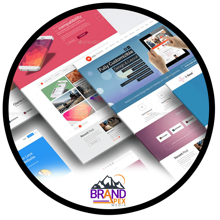 BrandApex Web design services