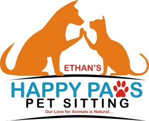 ethan pearson happy paws logo